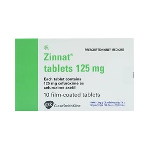 Zinnat 125Mg Gsk 1X10
