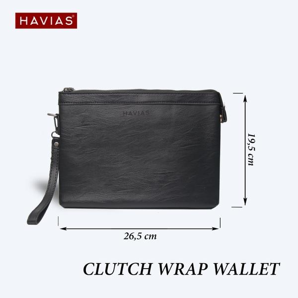 Clutch túi da cầm tay WRAP HAVIAS