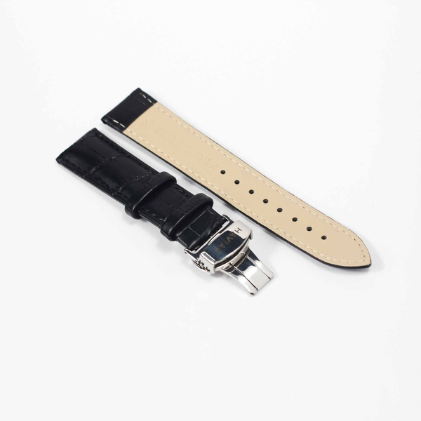 dây da đồng hồ apple watch lux9 havias màu đen