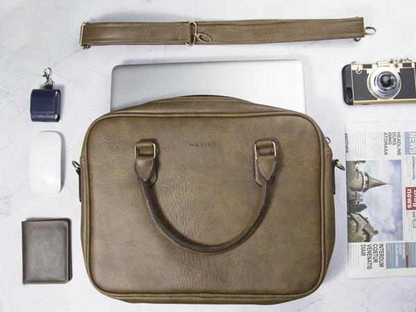 Túi cặp xách da bò nam nữ công sở LUMI HAVIAS