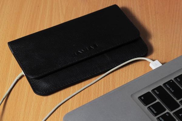 Ví Da The Momo2 Handcrafted Wallet Đen mill