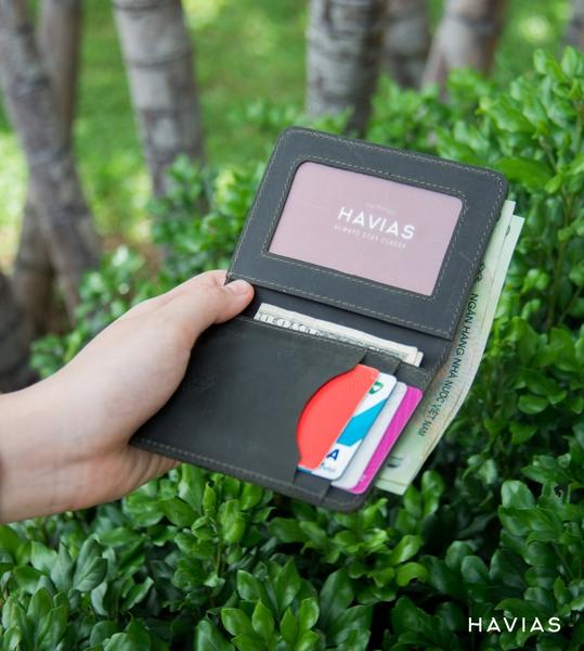 vi-da-that-VAMI-Havias-wallet xanh rêu