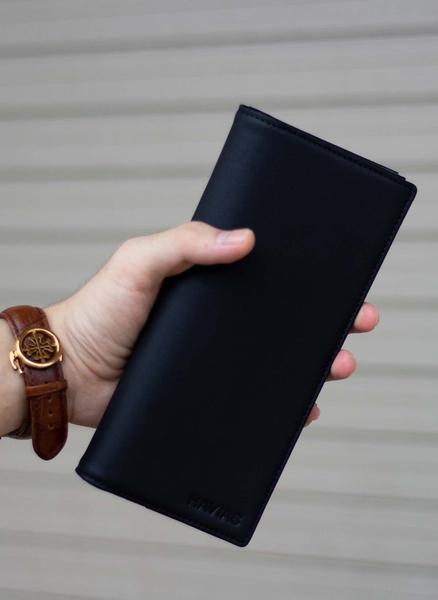 Ví dài Midas Handcrafted Wallet_da Calfskin_màu đen_2