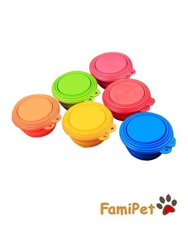 Bát Nhựa Gấp Cho Chó Mèo