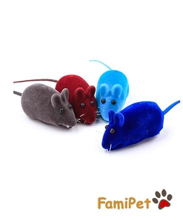 Đồ Chơi Chuột Nhắt Squeaky Cho Mèo