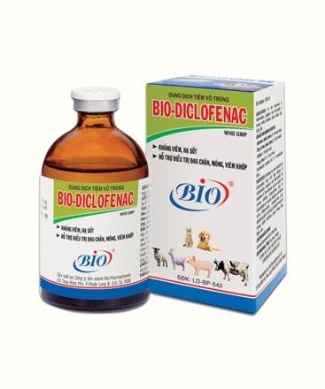Dung Dịch Tiêm Vô Trùng Kháng Viêm Hạ Sốt Bio Diclofenac