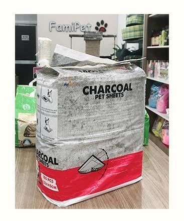 Giấy Lót Khay Vệ SInh Cho Chó Mèo CHARCOAL