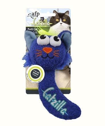 Đồ Chơi Vải Bông Cho Mèo AFP Catzilla