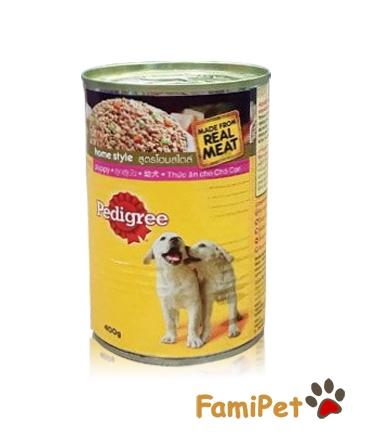 Thức Ăn Cho Chó Con Pedigree Lon 400g