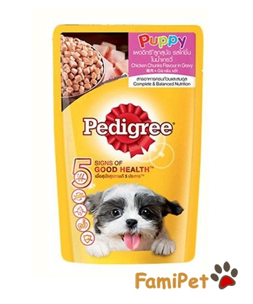 Thức Ăn Ướt Cho Chó Con Pedigree Vị Gà