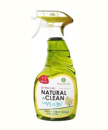 Xịt Khử Mùi Diệt Khuẩn Natural Core Clean