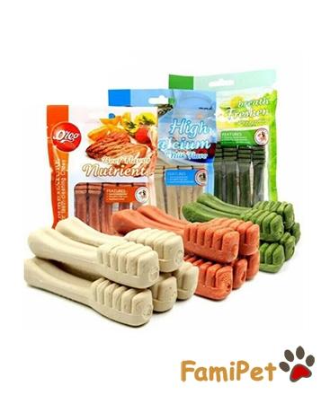 Xương Bàn Chải Nutrients Vị Bò Cho Chó Mèo