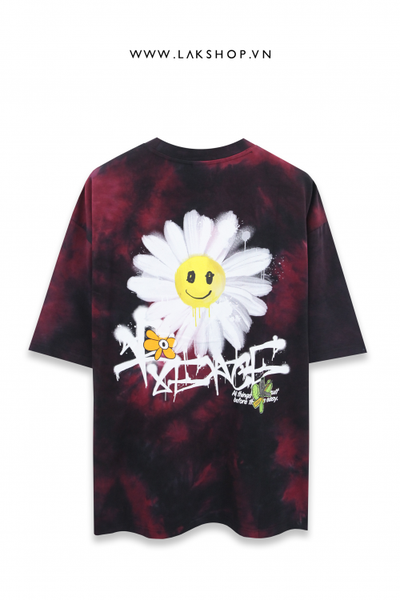 Daisy Graffiti Oversized T-shirt - L
