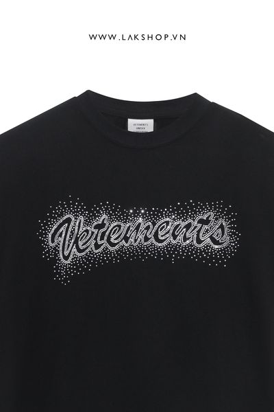 Vetements - Bling Bling Oversized Logo T-shirt (Form siêu rộng)