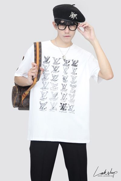 Gucci Band Print Logo White T-shirt ss20