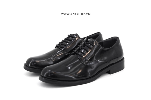 GXG Black Leather Derby Shoes (chính hãng)