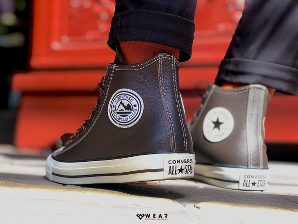Giày Converse Chuck Taylor All Star Tumbled Leather - 165958C