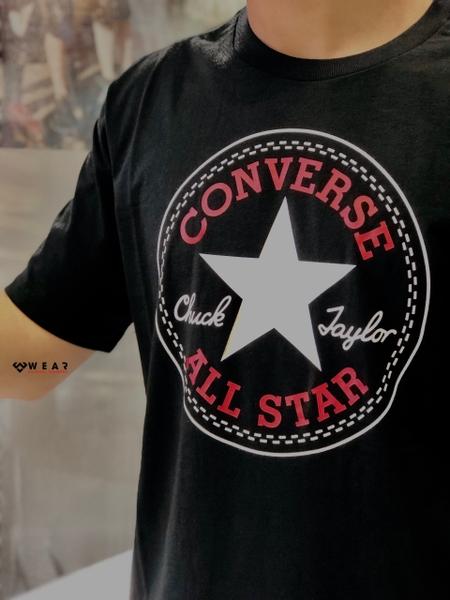 Áo Converse Chuck Patch Tee - Black - 10007887001