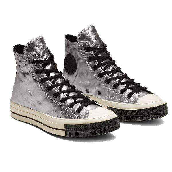 Giày Converse Chuck Taylor All Star 1970s Flight School Leather Silver - 165050C
