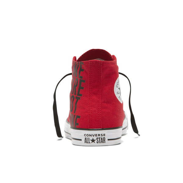 Giày Converse Chuck Taylor All Star We Are Not Alone Enamel Red - Hi - 165467C