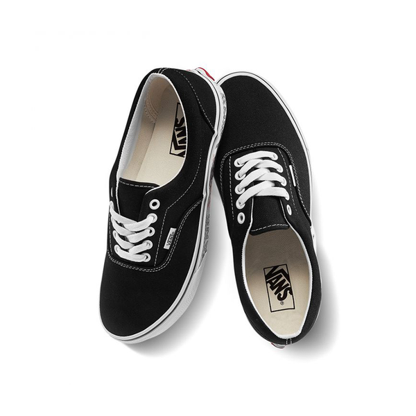 Giày Vans Era Checker Logo Black - VN0A38FRWQ0