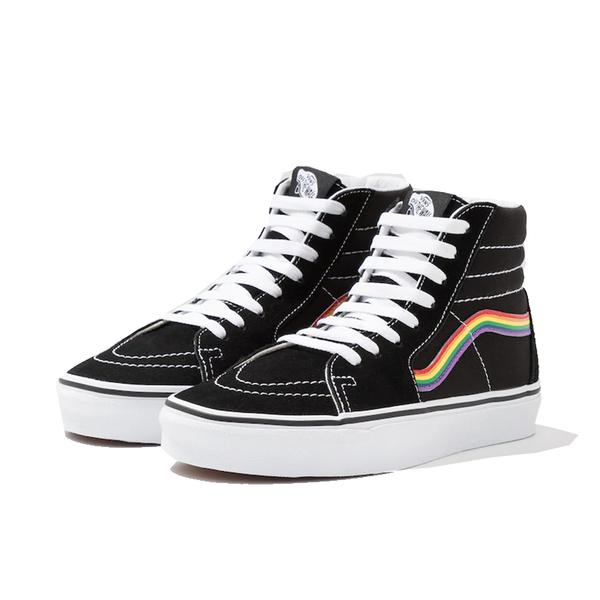 Giày Vans Sk8 - Hi Rainbow Pride - VN0A4BV6ZGH