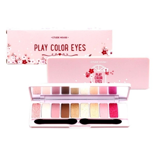 Bảng Phấn Mắt 10 Màu Etude House Play Color Eyes Cherry Blossom