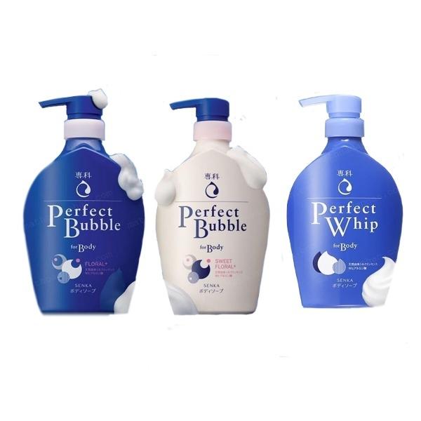Sữa tắm dưỡng ẩm, sạch sâu Senka Perfect Bubble For Body