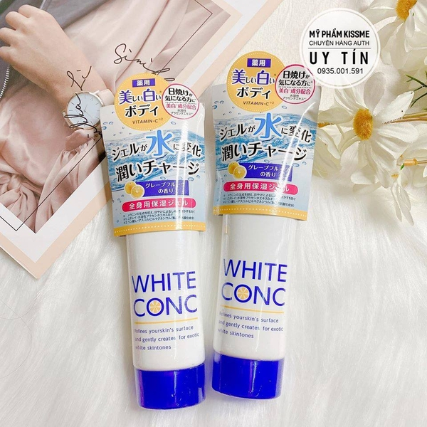 Sữa Dưỡng Thể Trắng Da Ban Đêm White Conc Watery Cream Vitamin C
