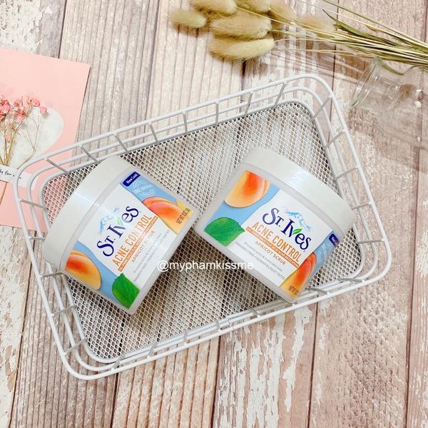 Tẩy Tế Bào Chết ST.Ives Acne Control Apricot Scrub