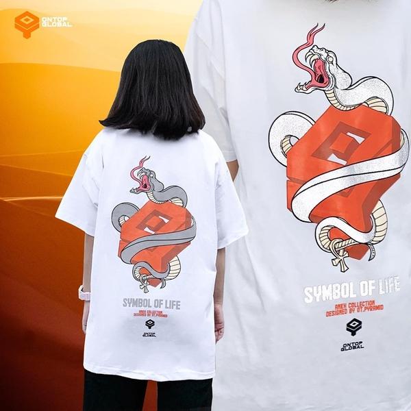 áo thun nam form rộng local brand ONTOP
