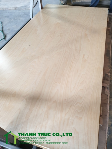 18mm CD Birch Plywood