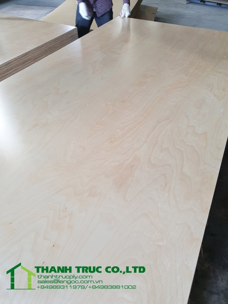 5.2mm birch plywood