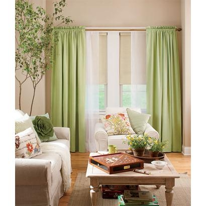 Soft Linen Lined Rod Pocket Curtains