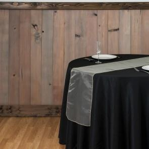 14 x 108 in. Organza Table Runner Butter