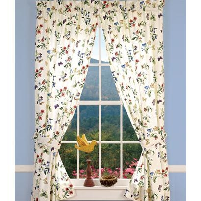 Mary Ann Rod Pocket Curtains