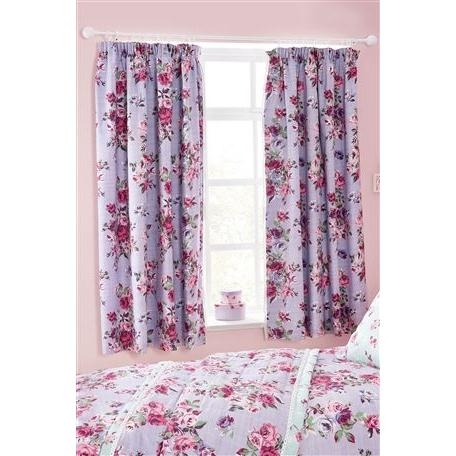 Vintage Floral Curtains