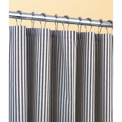 Ticking Stripes Shower Curtain
