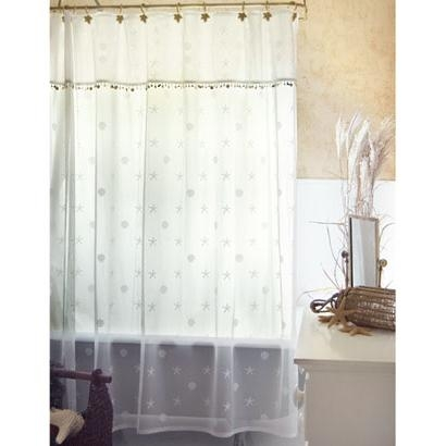 Seaside Lace Shower Curtain