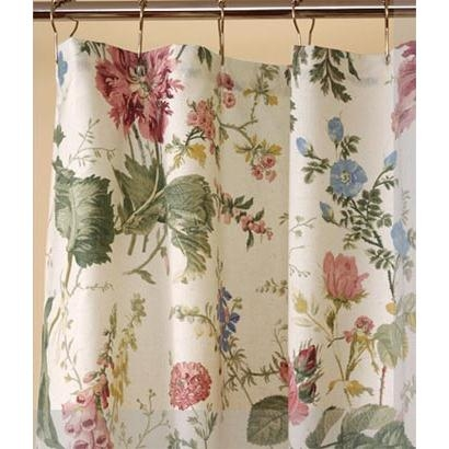 Cottage Garden Shower Curtain