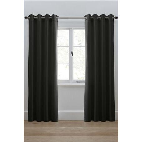 Twill Eyelet Curtains