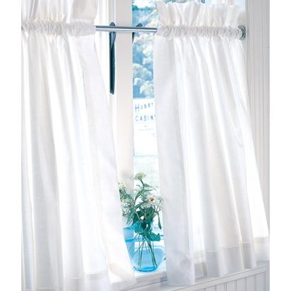 Hemstitch Tier Curtains