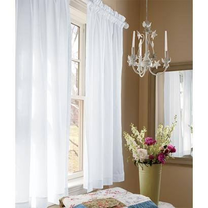 Jane's Plain & Simple Perma-Press Rod Pocket Curtains