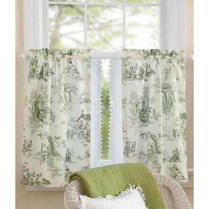 Lenoxdale Toile Tier Curtains