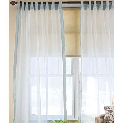 San Marco Rod Pocket and Button Tab Curtains - 120