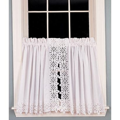 Battenburg Lace Tier Curtains