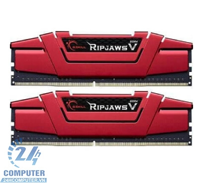 Bộ Kit Ram G.SKILL RIPJAWS V-16GB (8GBx2) DDR4 3000MHz
