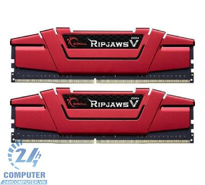 Bộ Kit Ram G.SKILL RIPJAWS V-8GB (4GBx2) DDR4 2133MHz