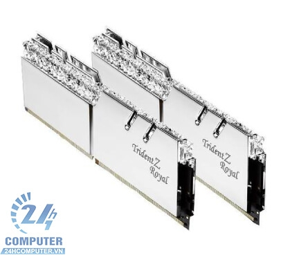 Kit Ram G.SKILL TRIDEN Z Royal - 16GB (2x8) DDR4 3600MHz