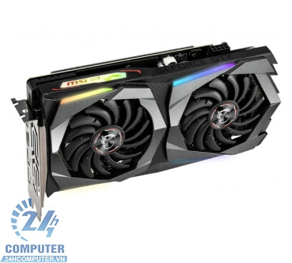 Card đồ họa MSI GTX 1660 Ti GAMING X 6G → DIGITAL LED